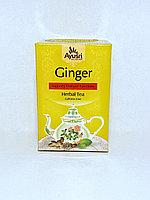 Аюрведический имбирный чай, Ginger Herbal Tea, 40 гр, Ayusri