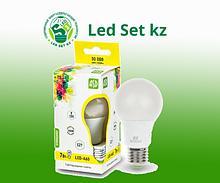 Лампа светодиодная LED-A60-Standard 7Вт 220В Е27 3000К 630Лм