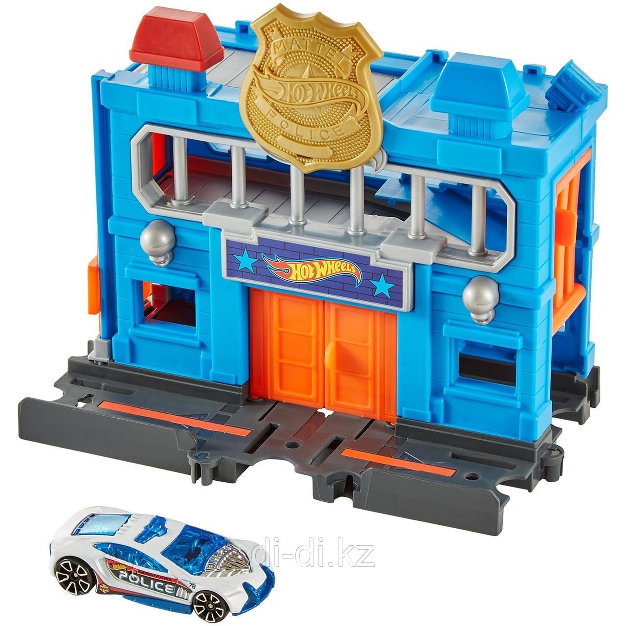 Игровой набор Hot Wheels Сити Полицейский участок