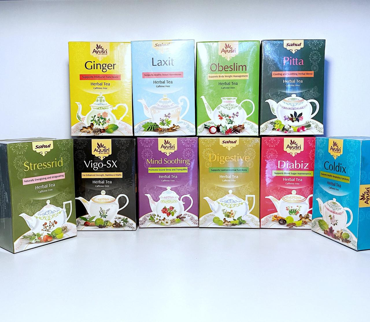Аюрведический чай для пищеварения Дайджестив, Digestive Herbal Tea, 40 гр, Sahul - фото 2