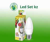 Лампа светодиодная LED-Свеча-Standard 5.0Вт 220В Е27 3000К 450Лм