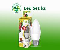 Лампа светодиодная LED-Свеча-Standard 3.5Вт 160-260В Е27 3000К 300Лм