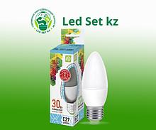 Лампа светодиодная LED-Свеча-Standard 3.5Вт 160-260В Е27 4000К 300Лм