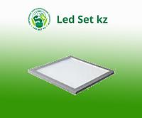 Панель светодиодная LP-02-PRO 50Вт 230В 4000К 5000Лм 595х595х8мм без ЭПРА, белая IP40