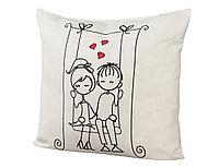 Подушка декоративная Date on a swing, бежевый