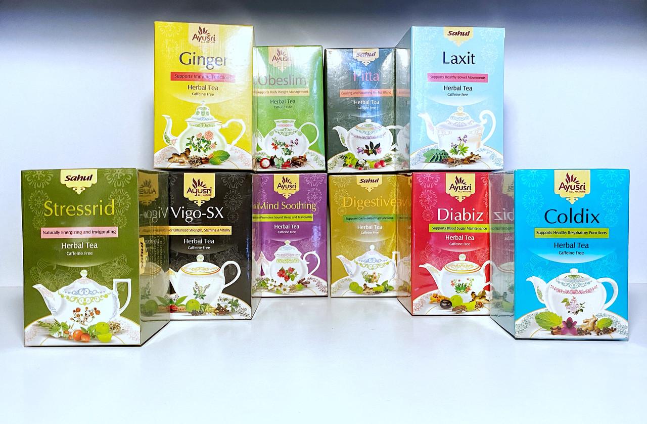 Аюрведический чай при диабете, Диабиз, Diabiz Herbal Tea, 40 гр, Ayusri - фото 2