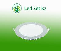 Панель светодиодная RLP 8Вт 220В 4000К 520Лм 120/105мм белая