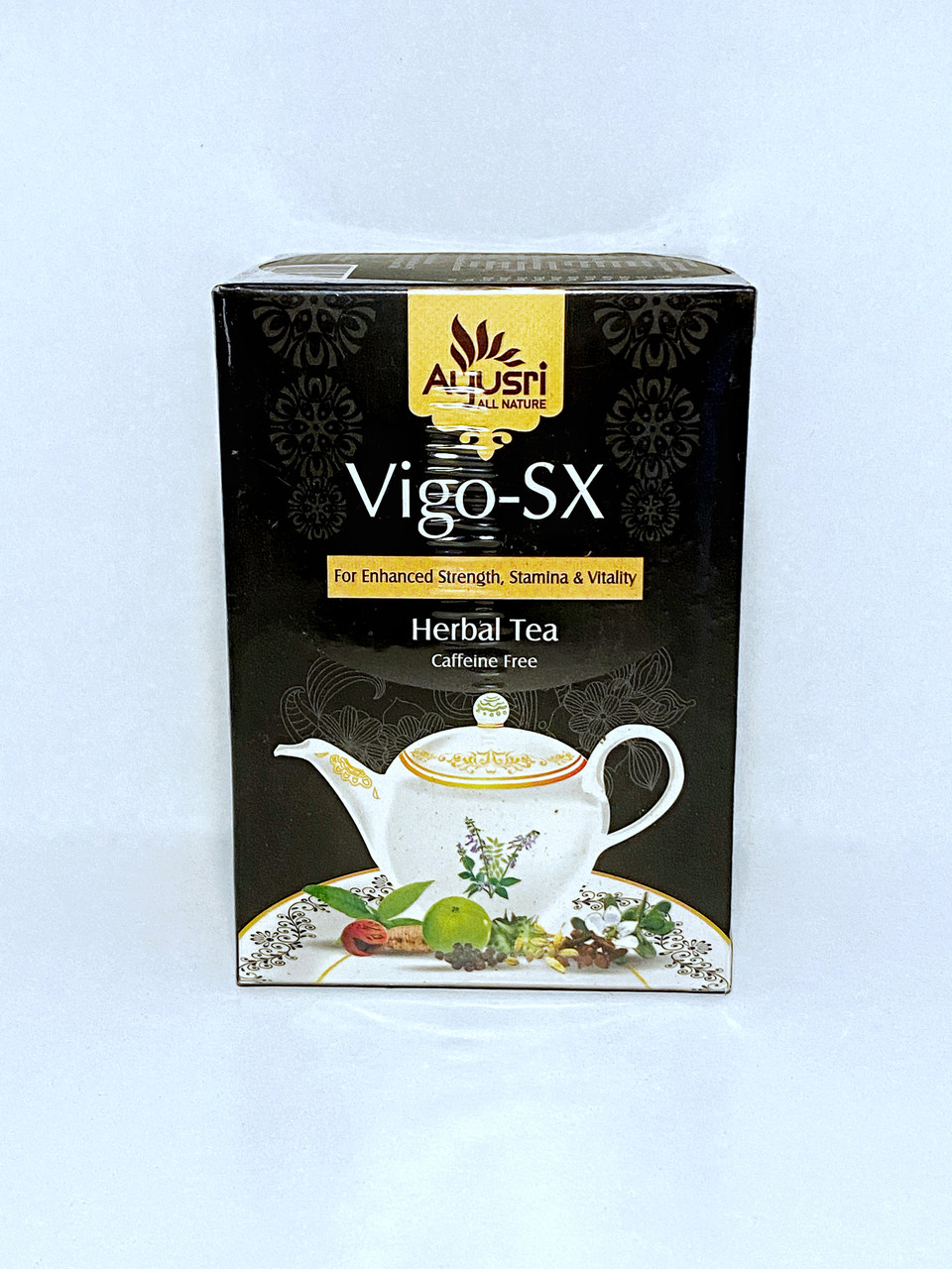 Аюрведический чай Виго Секс для половой активности, Vigo- SX Herbal Tea, 400 гр, Ayusri
