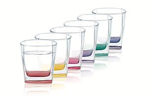 Набор низких стаканов Luminarc Sterling Rainbow 300 мл (6 шт)