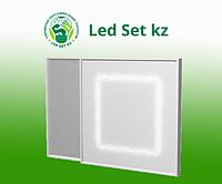 Потолочный светодиодный светильник Office 36W-Q, 3000K/4000К/5000К, 3780лм, 36Вт, 220VAC, микропризма ПК