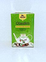 Аюрведический чай для похудения Обеслим, Obeslim Herbal Tea, 40 гр , Aysri