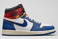 Баскетбольные кроссовки Air Jordan 1 Union Los Angeles 39