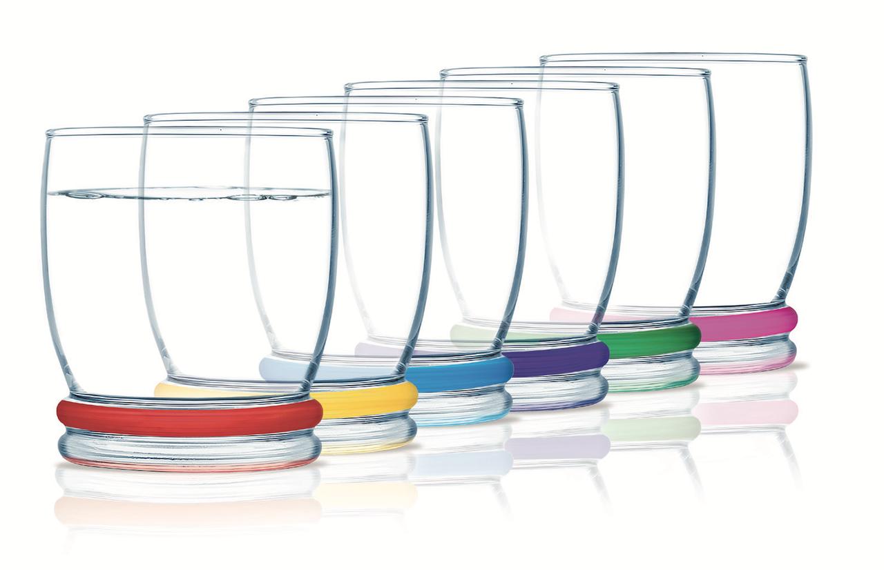 Набор стаканов Luminarc Rainbow Cortina 270 мл 6 шт (N0754)