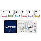 Набор стаканов Luminarc Rainbow Cortina 270 мл 6 шт (N0754), фото 3