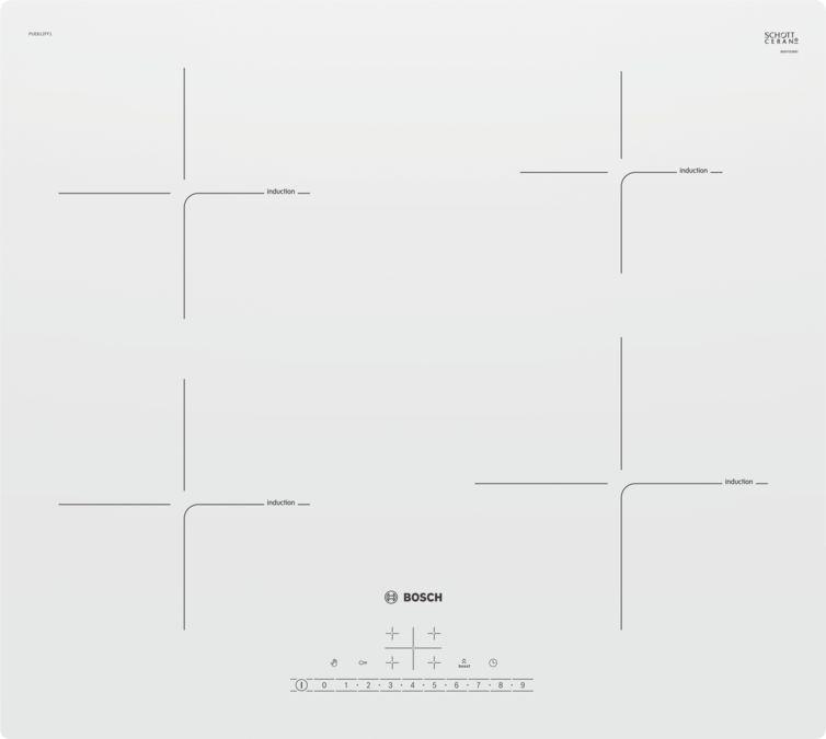 Варочная поверхность Bosch Serie 4 PUE612FF1J