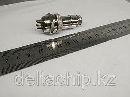 Силовой коннектор 6 pin GX19