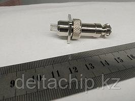 Силовой коннектор 4 pin GX12