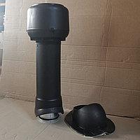 Вентиляционный выход ТР-85 125/160/700 утепленный для Монтеррей, Чёрный, фото 1