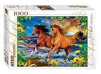"Step Puzzle: пазл 1000 деталей  ""Лошади"""