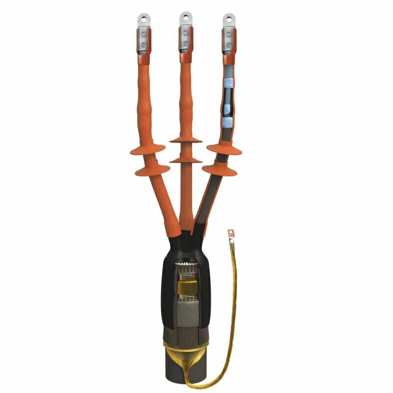 Монтаж концевых муфт кабельной линии на 10кВ