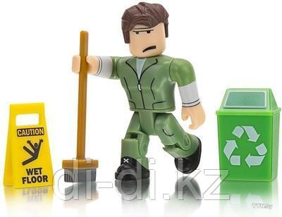 Игровая коллекционная фигурка Jazwares Roblox Core Figures Welcome to Bloxburg: Glen the Janitor W3