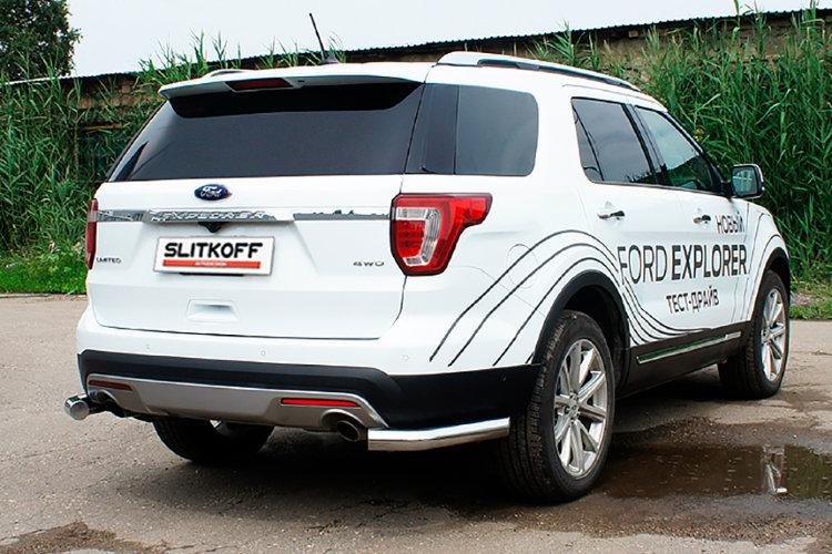 Уголки d76 Ford Explorer (2015)