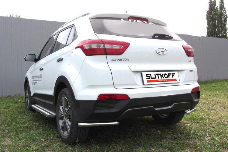 Уголки d42 Hyundai CRETA 4WD 2016