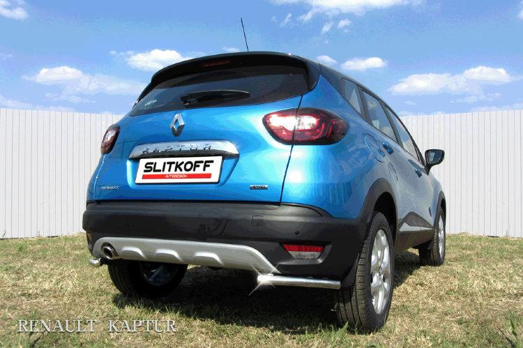 Уголки d42 Renault Kaptur 4WD 2016