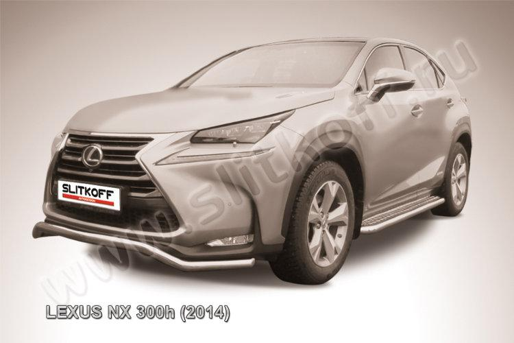 "Защита переднего бампера d57 ""волна"" Lexus NX 300h"