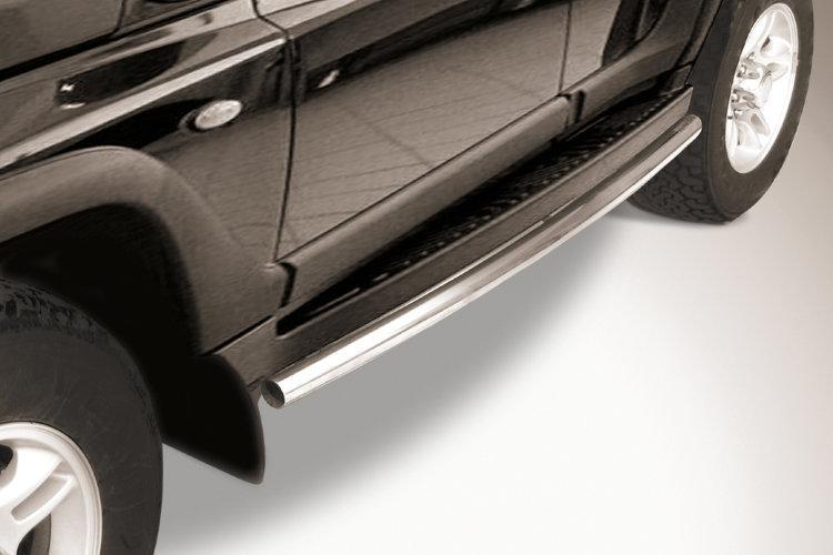 Защита штатного порога d57 TAGAZ TAGER 5 doors