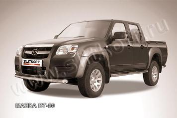Защита переднего бампера d76 Mazda BT-50