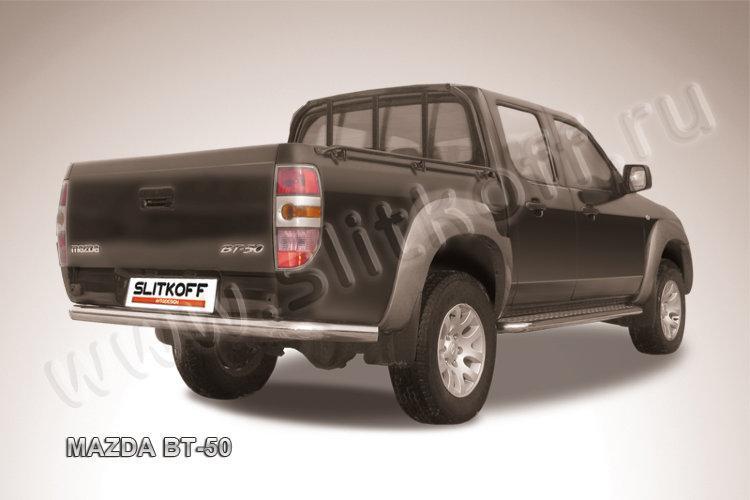 Защита заднего бампера d76 Mazda BT-50