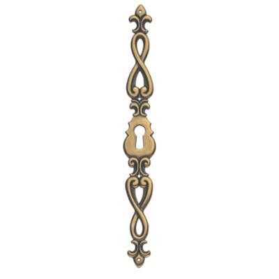 Ключевина *Baroque*, 17х125мм, золото Валенсия