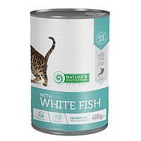 Влажный корм для кошек Nature's Protection Cat Sensitive Digestion with White Fish с белой рыбой