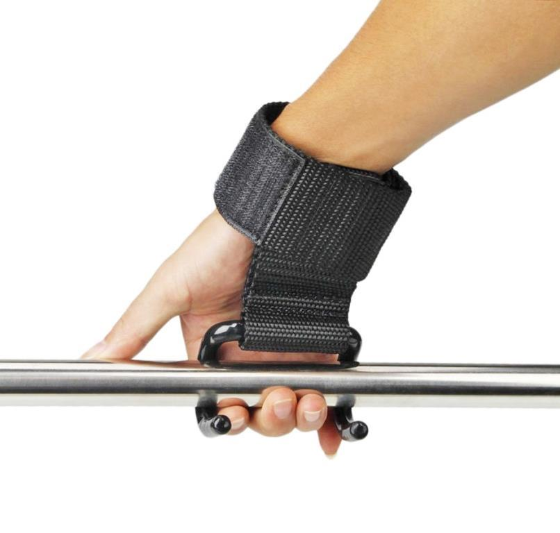 Лямки для тяги с крюками для турника и штанги - фото 1