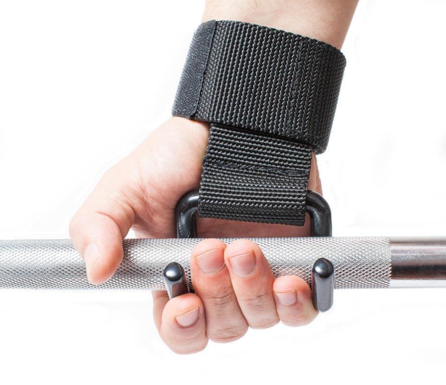 Лямки для тяги с крюками для турника и штанги - фото 8