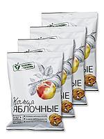 """Сушенные фруктовые чипсы кольца """"Яблочные"""" 25 гр, фото 1"""