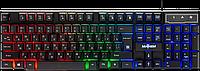 Клавиатура проводная игровая Defender Mayhem GK-360DL, ENG/RUS, USB, RGB подсветка