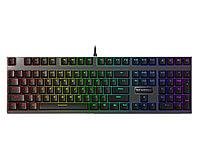 Клавиатура, Rapoo, V700RGB, Игровая, USB, Кол-во стандартных клавиш 87, Длина кабеля 1,8 метра, Анг,, фото 1
