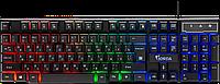 Клавиатура проводная игровая Defender Gorda GK-210, ENG/RUS, USB, RGB подсветка, НОВИНКА!