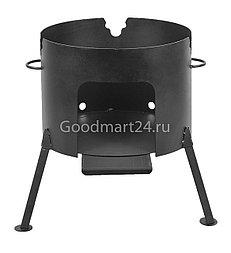 Печь под казан на 12 л. D-360 мм. сталь 2 мм.