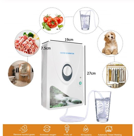 Бытовой озонатор для продуктов, воды и воздуха GL-3189 (600 мг/ч)