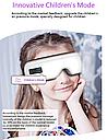 Массажер для глаз с тепловой функцией, функцией расслабляющей музыки и детскими программами массажа, фото 7