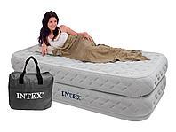 МАТРАС INTEX 64488 Надувная кровать Supreme Air-Flow 99см x 191см x 51см, фото 1