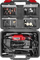 Гравер электрический ЗУБР 160 Вт, 15000-35000 об/мин, 41 шт., кейс, с набором мини-насадок (ЗГ-160 КН), фото 3