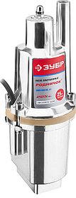Насос вибрационный погружной ЗУБР 225 Вт, забор воды верхний (ЗНВП-300-25_М2)