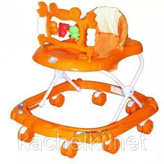 BAMBOLA Ходунки КРАБ (8 колес,игрушки,муз)