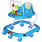 BAMBOLA Ходунки СЧИТАЛКА (8 колес,игрушки,муз), фото 2