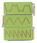 Тренажер для подготовки руки к письму магнитный №2