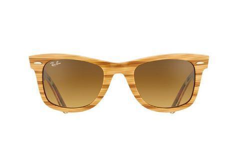 Солнцезащитные очки Ray-Ban Wayfarer RB2132 (Серо-голубые линзы / C7), фото 2